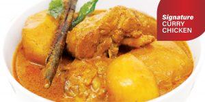 Curry Chicken Buffet